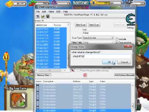DRAGON CITY FARM HACK (cheat engine 6.2)