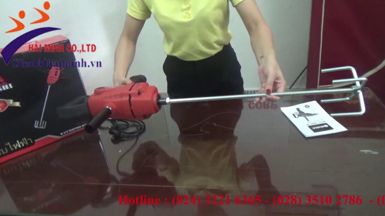 Hướng dẫn sử dụng máy khuấy sơn Haloshi HL20A
