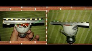 Cara membuat lampu LED rumah