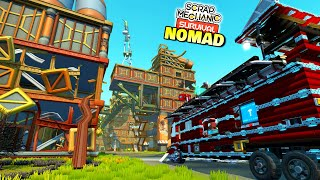 I Invaded The Scrap City With My Mobile Base! - Survival Nomad 25
