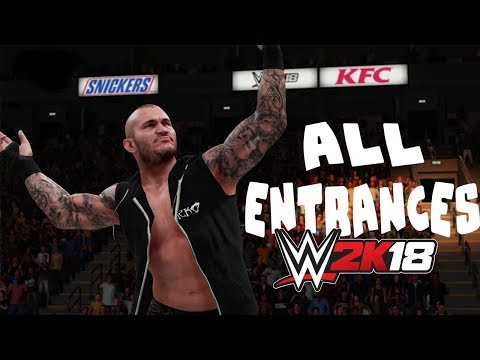 WWE2K18 ALL ENTRANCES thumbnail