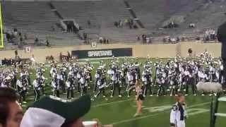 Spartan Marching Band - MSU vs  Oregon - 9/12/2015 - Everybody