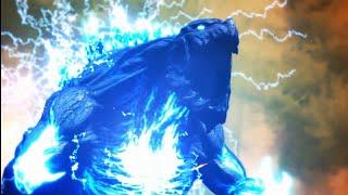 [AMV] MMD Godzilla Earth \u0026 Mothra Life Goddess vs Void Ghidorah \u0026 MechaGodzilla NanoMetal