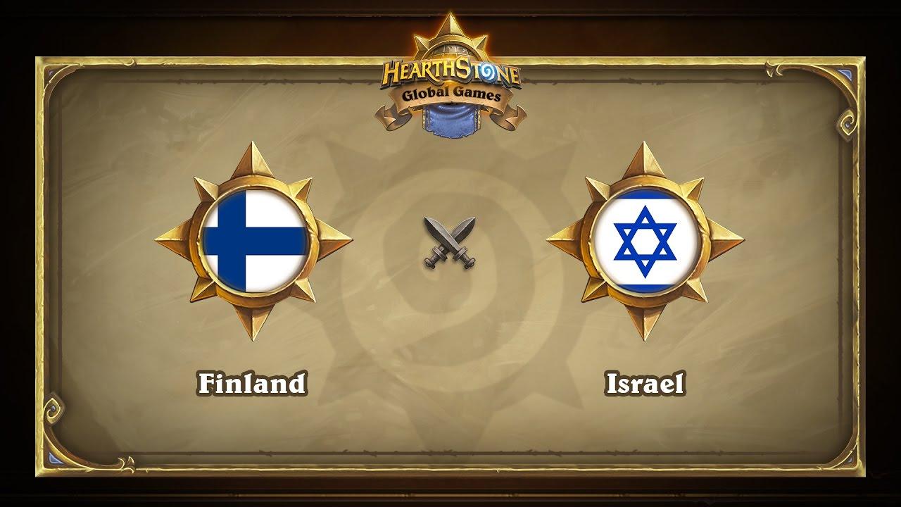 Финляндия vs Израиль | Finland vs Israel | Hearthstone Global Games (17.05.2017)