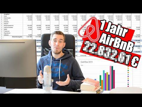 AirBnB Business erfolgreich aufgebaut? 1 Jahr bei AirBnB vermietet & __.___€ verdient! |