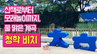 서울 인근 계곡 남양주 청학 비치 경기도 물맑은 계곡