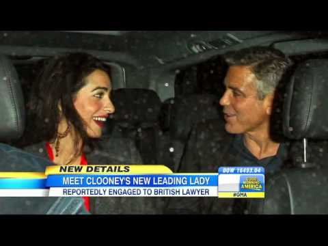 George Clooney Rumored to Be Engage