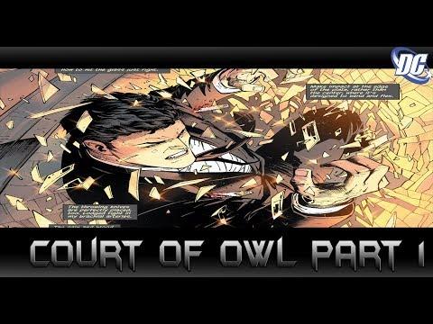 Bruce Wayne จะต้องตาย! Court of Owl Part 1 - Comic World Daily