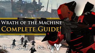 Destiny: Wrath of the Machine Raid Guide! Bosses, Loot, Exotic Chests, Clusters and Easter Eggs!