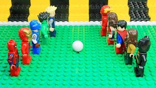 Lego Avengers Vs Justice League: Super Hero FIFA World Cup 2018