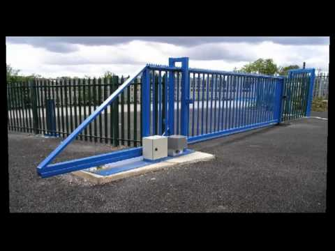 Cantilever Gates Fanwood Youtube