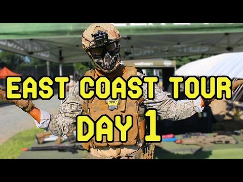 East Coast Tour: Day 1 (Patriot Armory and Outdoor Extreme Chesapeake City)