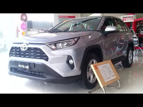 2019 Toyota RAV4 2.5 LE 4x2 A/T: Full Walkaround Review