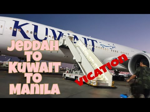 Flight Report: KUWAIT AIRWAYS | Jeddah - Kuwait - Manila