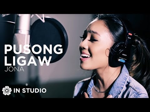 Jona  Pusong Ligaw  Recording Session