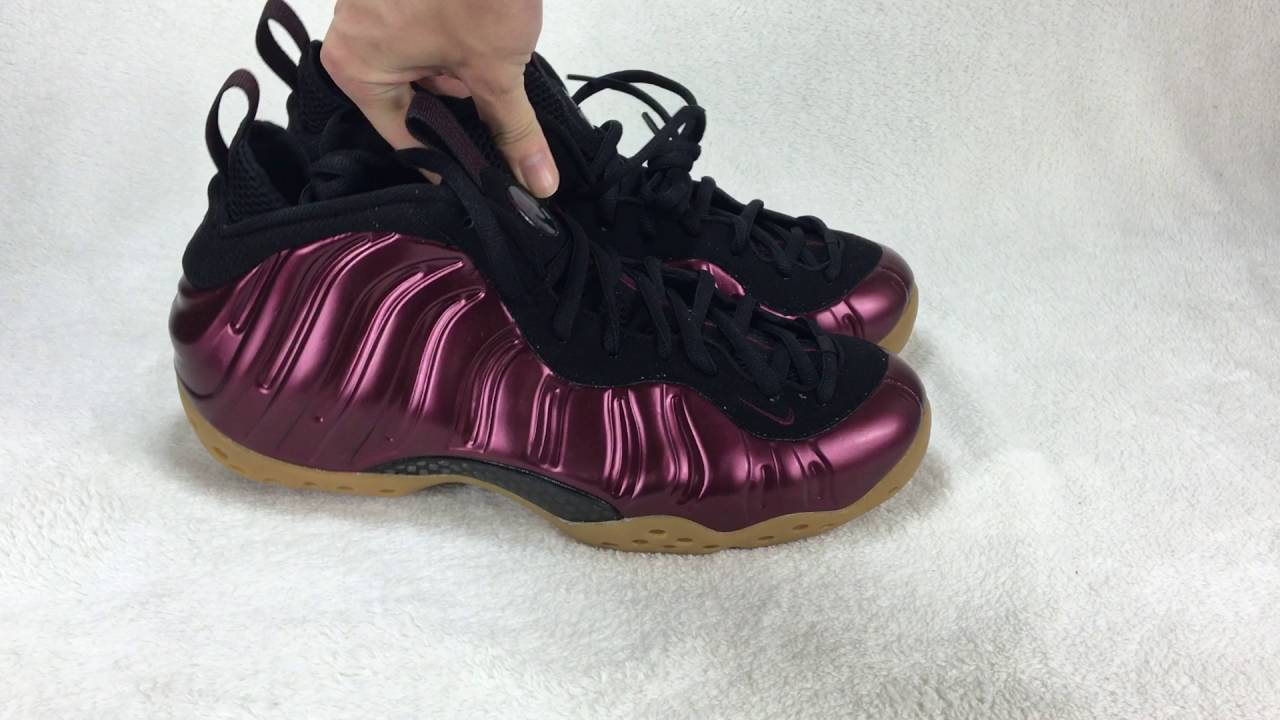 c2177765ea6d7 ... Authentic Nike Air Foamposite One Maroon review from gobuykicks ...