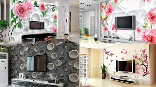 3d Wallpapers Design For Bedroom / Rk P.o.p Contractor