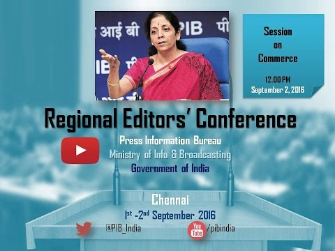 Regional Editors' Conference: Session on Commerce & Industry