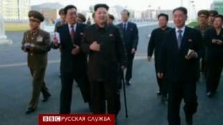 Ким Чен Ын на публике: с тростью, но при делах