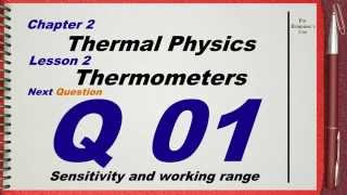 q 01 l02 thermometers ch 2 thermal physics igcse past papers