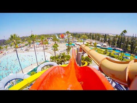 [4k] Riptide - Knott's Soak City Waterpark (Buena Park, California)