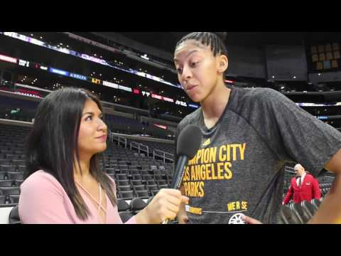 Candace Parker on her Return to LA and Championship