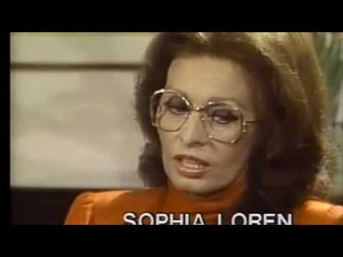 Sophia Loren: Emotional interview about her childhood poverty , Carlo Ponti, and a Trump project!