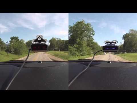 K40 RLS2 Radar/Laser Detector vs Escort Passport 9500ix