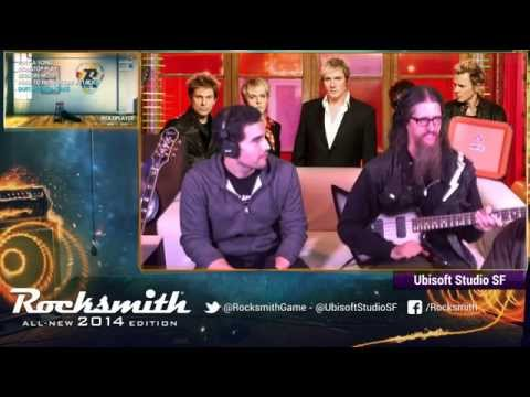 Rocksmith 2014 - Duran Duran DLC - Livestream with Ubisoft Studio SF