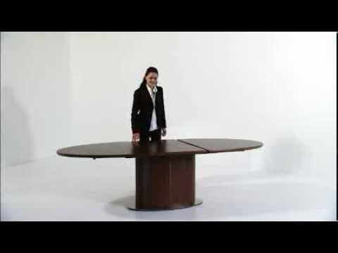 krosby.no Møbler - Skovby spisebord SM72_73 - YouTube