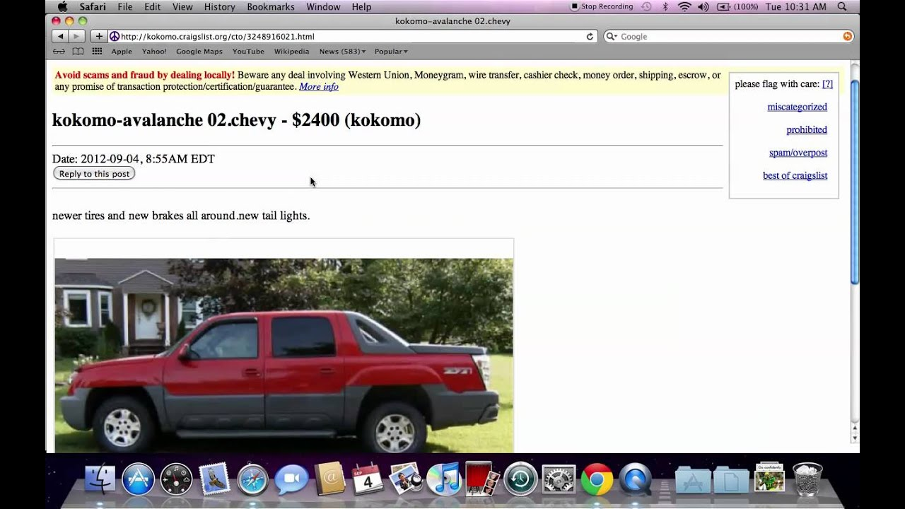 Craigslist Cars For Sale Richmond Indiana