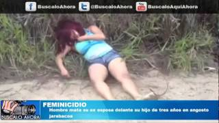 Repeat youtube video Hombre mata su ex esposa delante su hijo de tres años en Jarabacoa