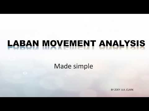 Laban Movement Analysis Made simple