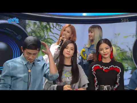 160911 BLACKPINK @ Inkigayo (Interview)