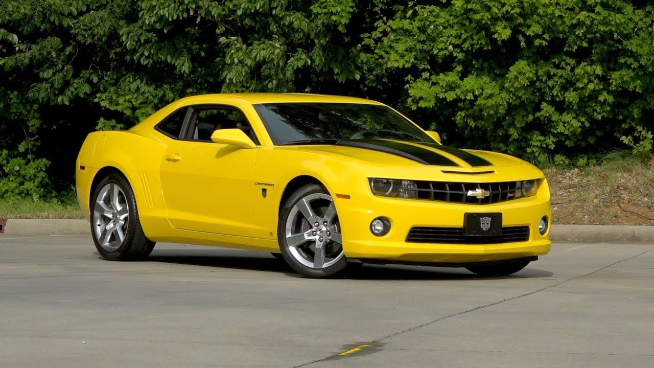 2010 Chevrolet Camaro Transformers Edition Rs Ss Sold 136487 Youtube