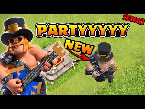 NEW SKIN - Party King | Random Armies in Legend League | #clashofclans [ENG]