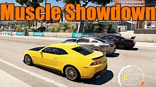 Forza Horizon 2 | Fully Built Muscle Car Showdown!