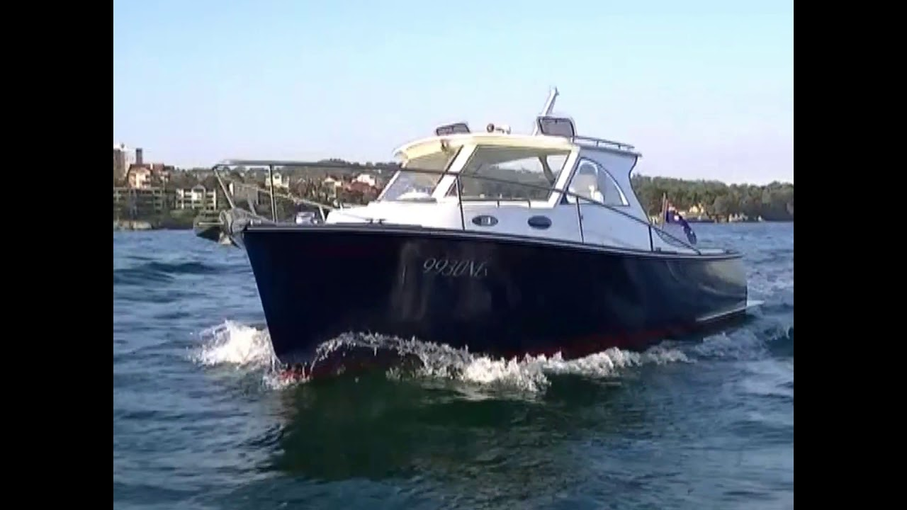 Bellmarine 50kW electric inboard powers harbour cruiser