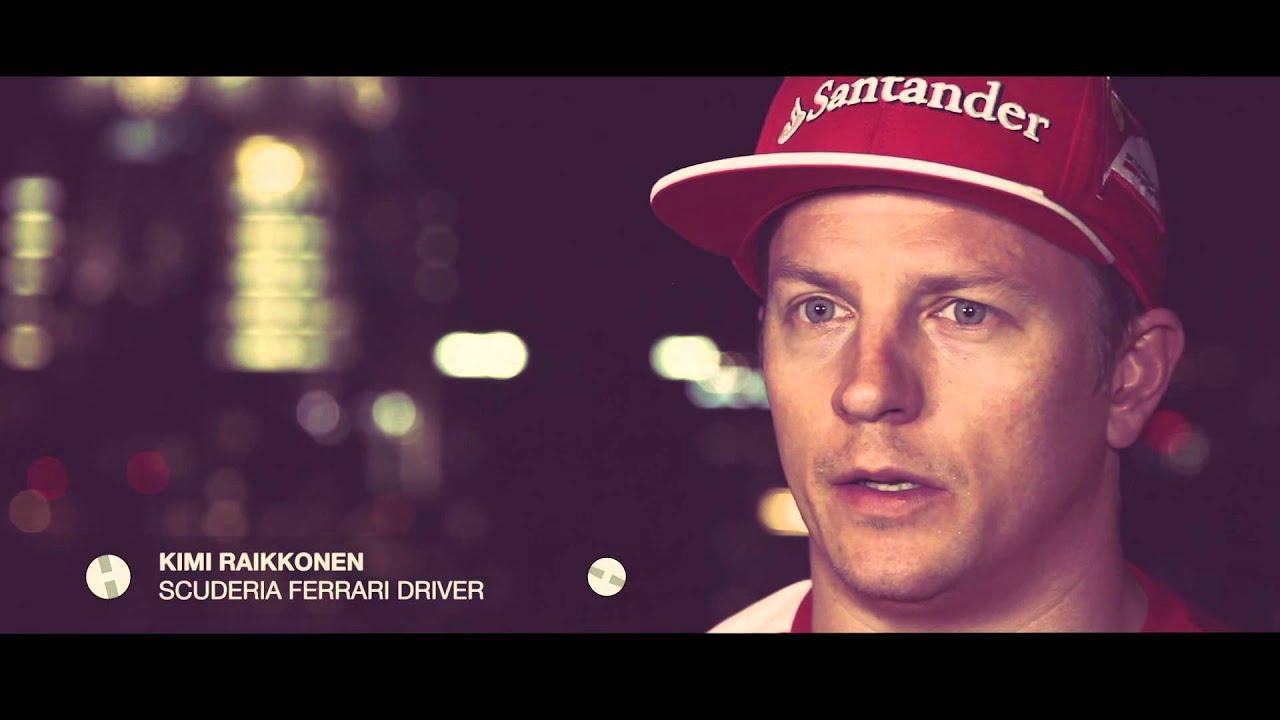 """HUBLOT Ferrari Kimi Räikkönen - """"Time matters always"""""""