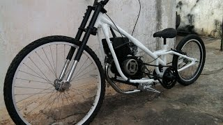 Bike chopper motorizada 125cc