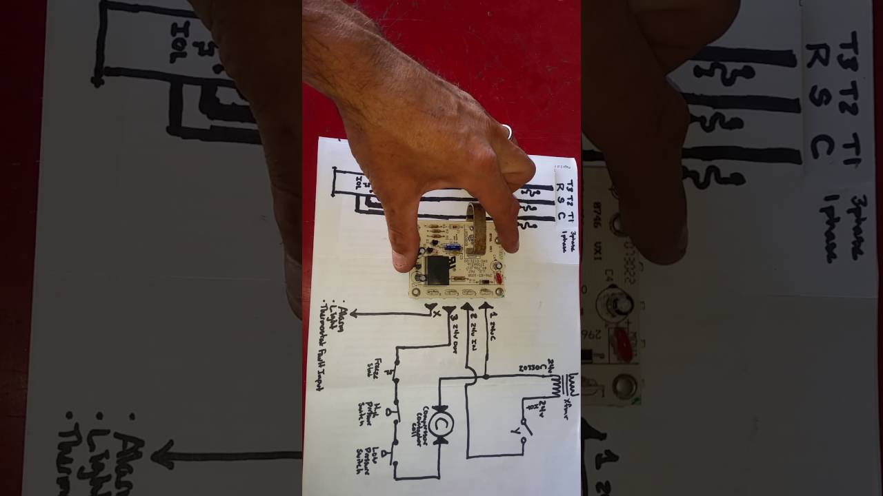 carrier clo current or compressor lock out board explained youtube rh youtube com Basic Electrical Wiring Diagrams 3-Way Switch Wiring Diagram