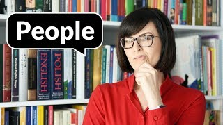 People czy persons? Peoples? | Po Cudzemu #176