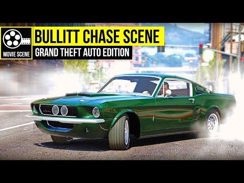 Grand Theft Auto 5 - Bullitt Chase Scene