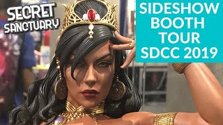 Sideshow Collectibles Booth Tour SDCC 2019