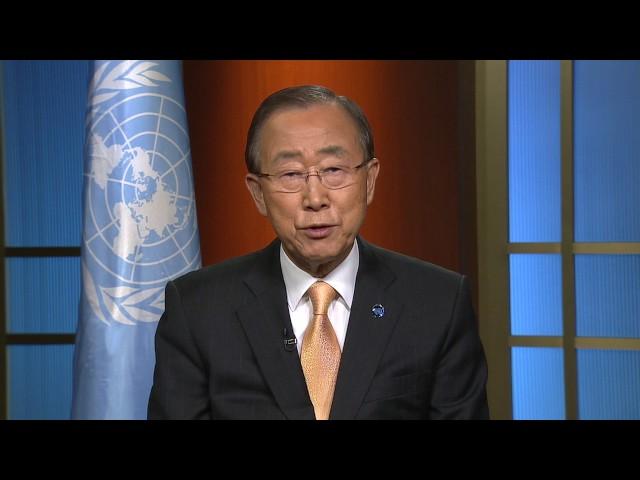 Ban Ki-moon (UN Secretary-General) on UNIDO 50th Anniversary Celebration