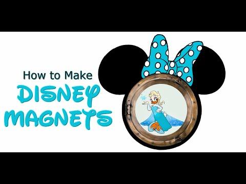 picture regarding Disney Cruise Door Decorations Printable titled Manufacturing Disney Cruise Magnets