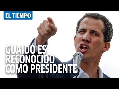 Trump reconoce a Guaidó como presidente encargado de Venezuela I EL TIEMPO