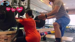 【孕產婦訓練】一位懷孕美少女的健身記事 x 天天運動工作室