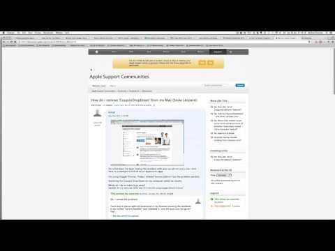 HOW TO REMOVE 'COUPONDROPDOWN' (Mac/Chrome)
