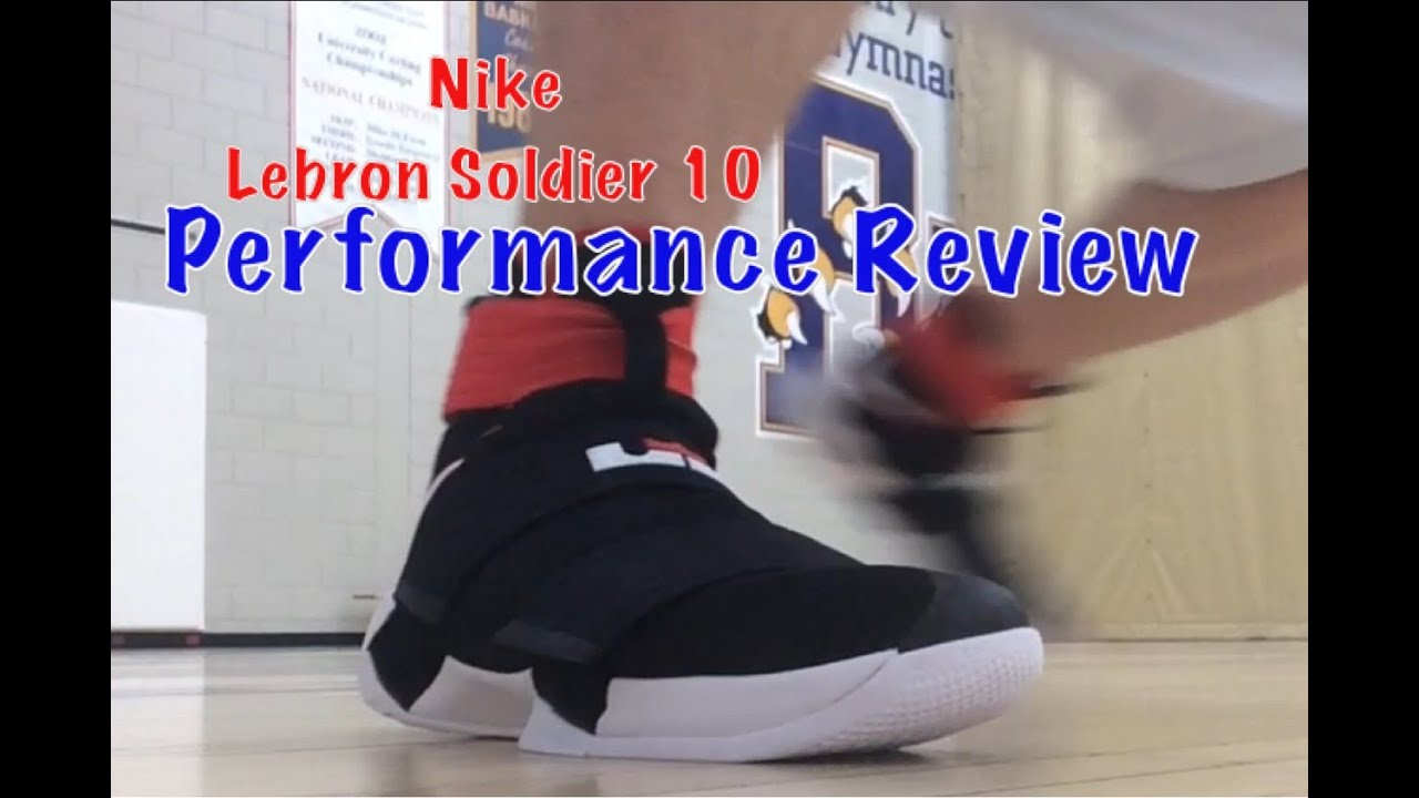 reputable site 44b31 b9516 Nike Lebron Soldier 10 Performance Test and Full Review